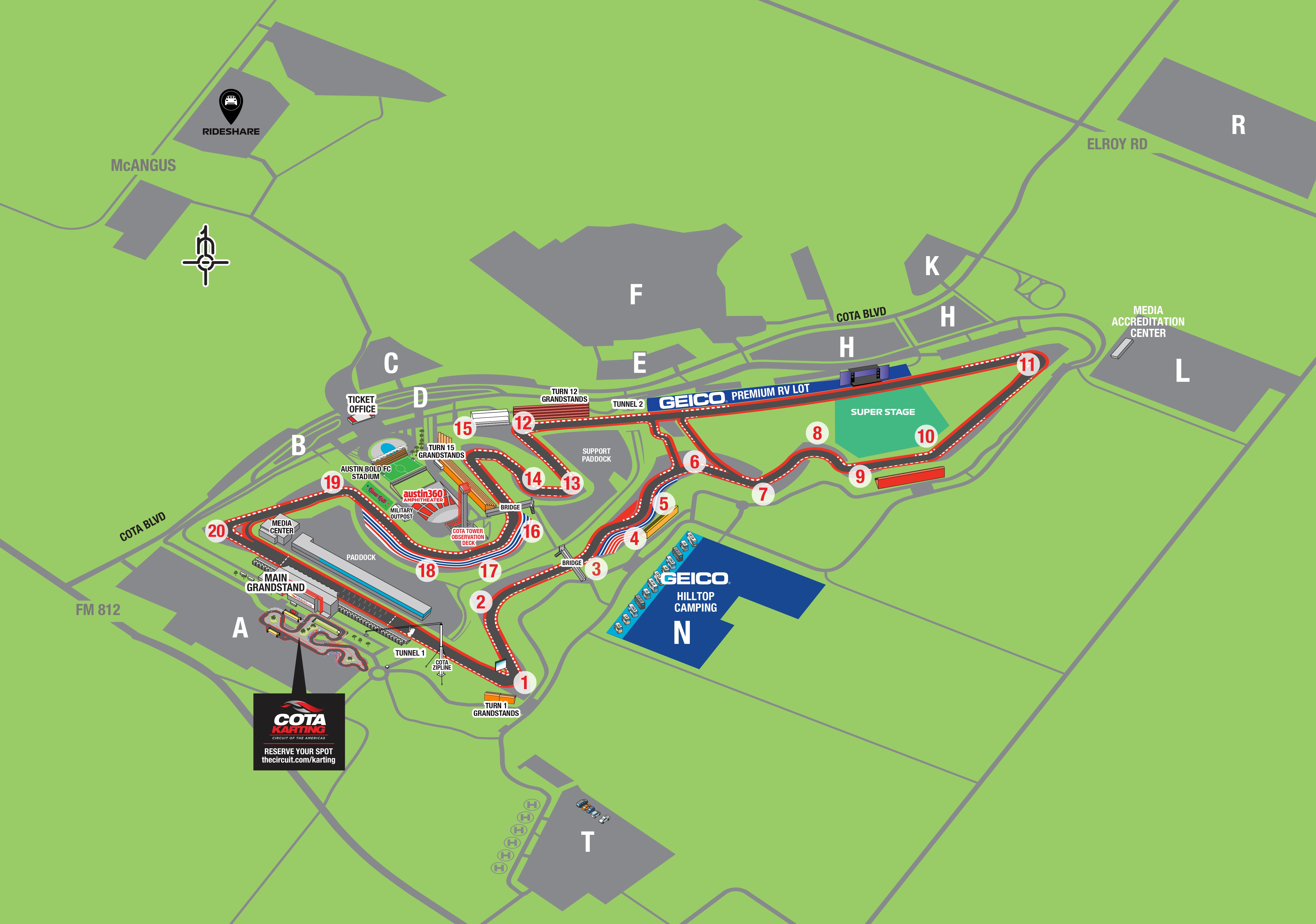 2019 F1 Generic Map Map