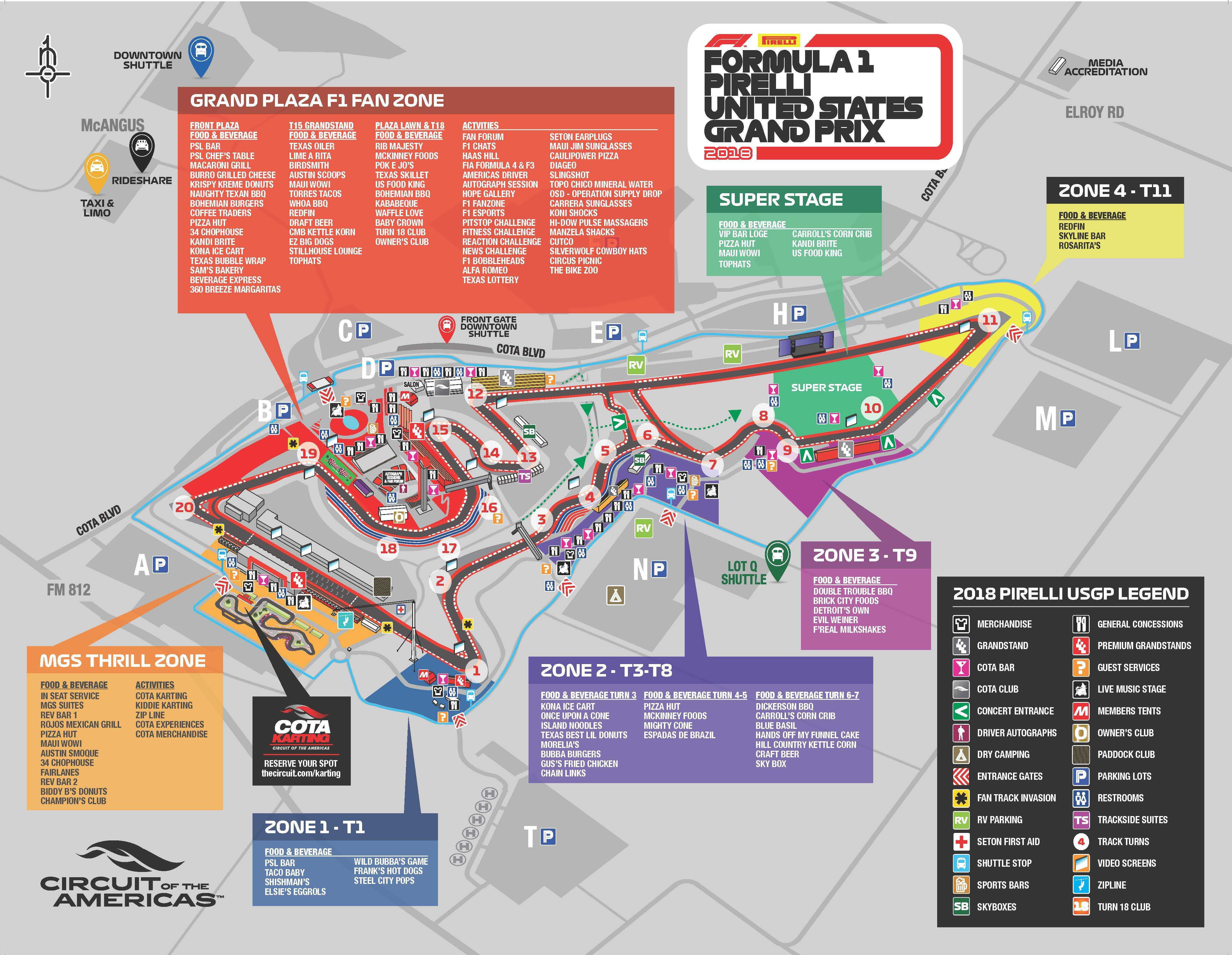 maps circuit of the americas