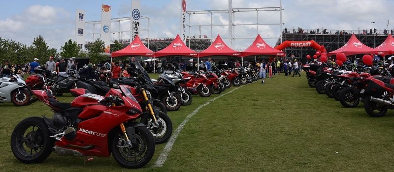 DUCATI ISLAND GRANDSTAND TICKET PACKAGE - Circuit of the Americas