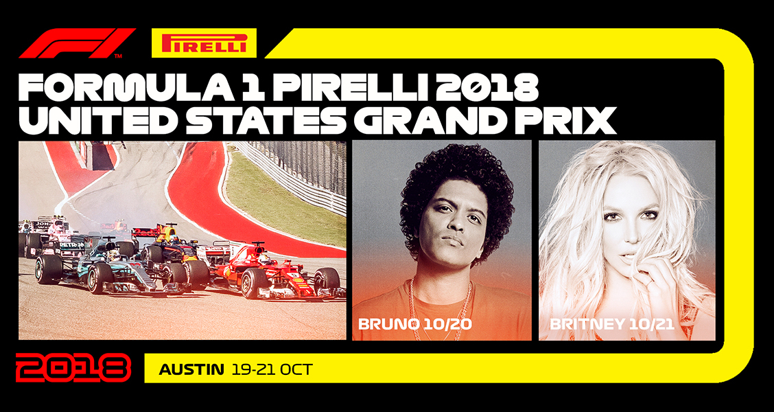 2018 Formula 1 Usgp Announced With Performances By Bruno