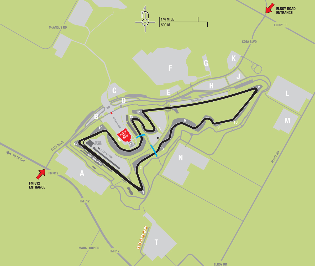 Maps - Circuit of the Americas